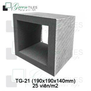 K - Series | Gạch thông gió dày 20x20x14cm